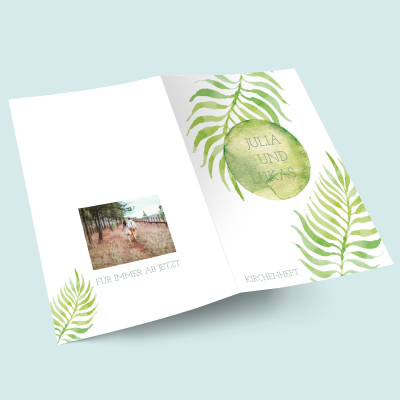 Kirchenhefte: Greenery previews