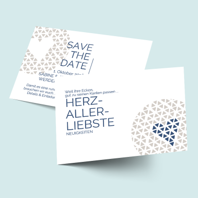 Save the Date Karten: Herzallerliebst previews