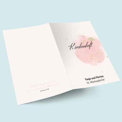 Kirchenhefte: Blush previews