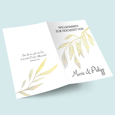 Kirchenhefte: Golden Watercolor previews