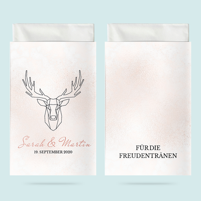 Taschentuchhüllen: Geometric Deer previews