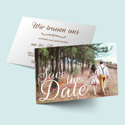 Save the Date Karten: Bildschön previews