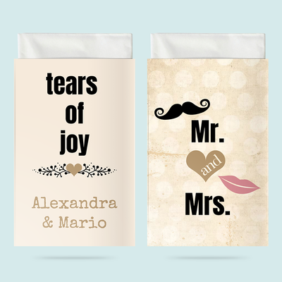 Taschentuchhüllen: MR. & MRS. in love previews