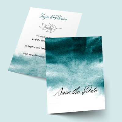 Save the Date Karten: Ombre previews