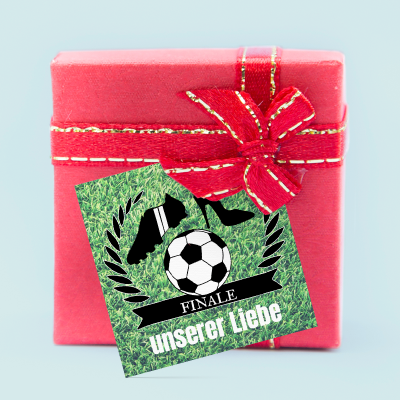 Geschenkkärtchen:  Love. Peace. Football. previews