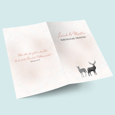 Kirchenhefte: Geometric Deer previews