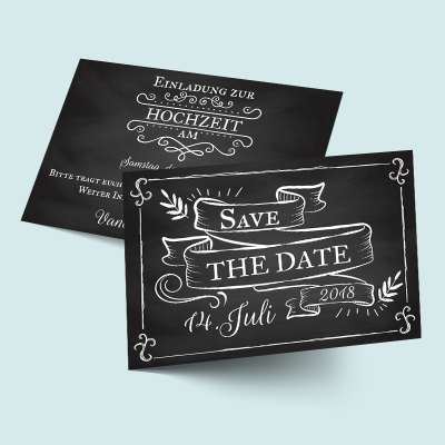 Save the Date Karten: Vintage Hochzeit  previews